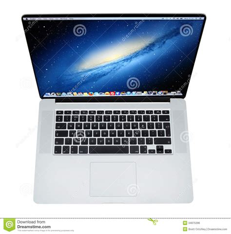 Laptop Apple November apple macbook pro laptop retina display editorial photo image 34875396
