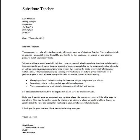 teaching cover letter format agi mapeadosencolombia co
