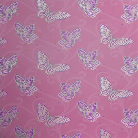 Wallpaper Sticker 10 M Motif Bunga Bunga new luxury holden decor papillon butterfly motif pink blue 10m wallpaper roll ebay