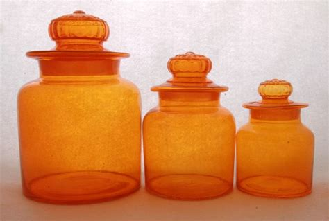 orange kitchen canisters 89 best canister sets images on