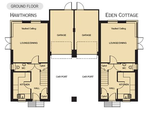 floor plans for houses uk houses for sale 2 new cottages available at durley in hshire