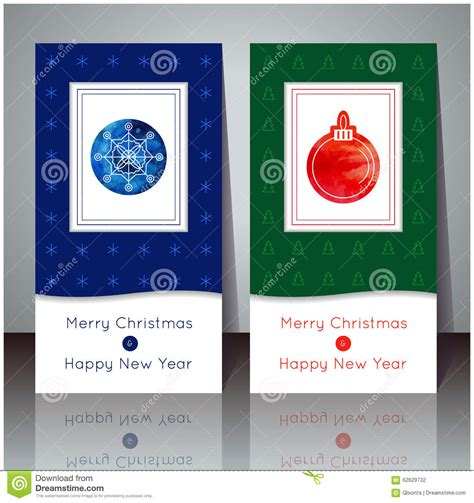 party title for christmas new year vector illustration and new year greeting card winter cards with snowflake and
