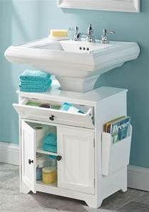 Bathroom Pedestal Sink Storage » Home Design 2017