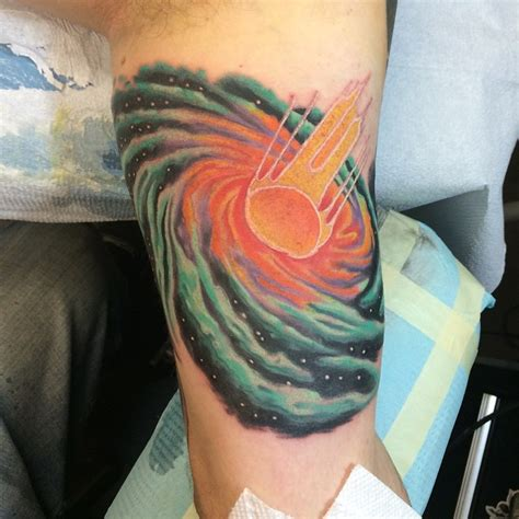 watercolor tattoo kiel 24 spiral galaxy tattoos