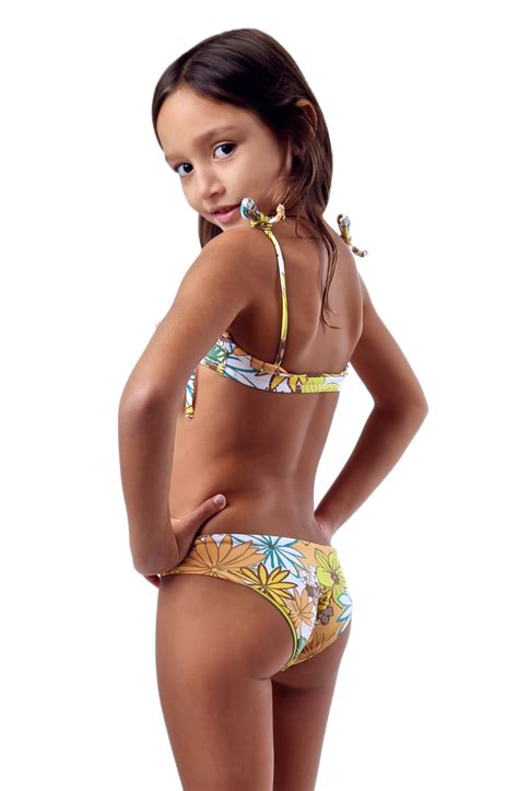 little girls swimwear bikinis rear view image gallery sweetheart collection