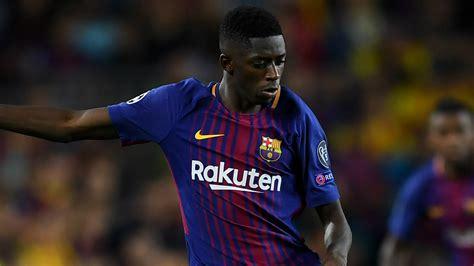 ousmane dembele english barcelona star ousmane dembele off injured early in full