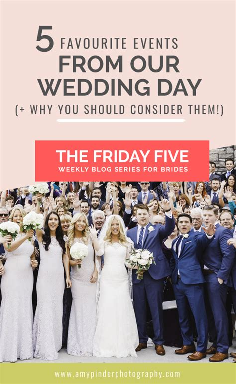 Wedding Font Awesome by 5 Of My Favourite Events From Our Wedding Day
