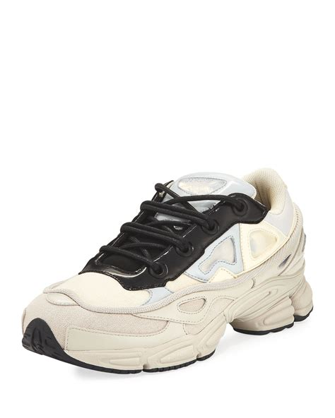 Raf Simons Tennis Shoes by Adidas By Raf Simons S Ozweego Ii Trainer Sneakers White Neiman