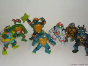 My collection of original tmnt action figures