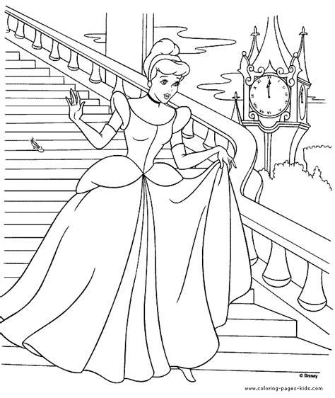 coloring pages of princess cinderella princess cinderella coloring pages az coloring pages