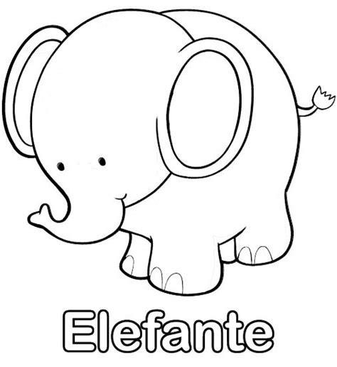 dibujo de iman para colorear y pintar dibujos para imprimir y colorear elefante para colorear