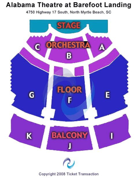 alabama theater seating chart myrtle cheap alabama theatre sc tickets