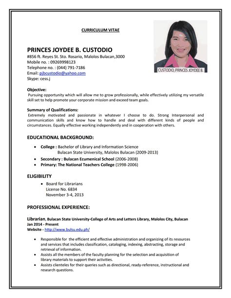 How To Make A Resume For A Application by Fresh Ideas How To Make A Resume For Application