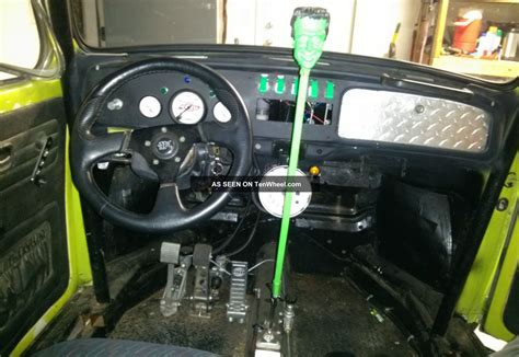 baja bug interior 1970 volkswagen vw custom baja beetle w fuel inj