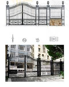 Handrail For Balcony Wrought Iron Gate Iron Fence Wrought Iron Component