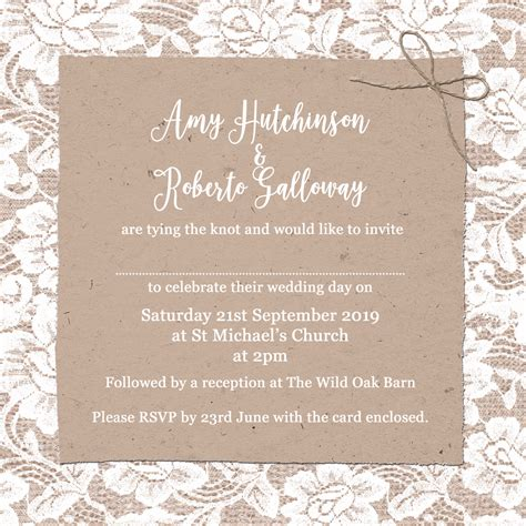 church wedding invitation wording examples