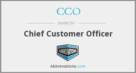 Chief Customer Officer by Cco Chief Customer Officer