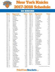 knicks home schedule printable new york knicks schedule 2017 2018