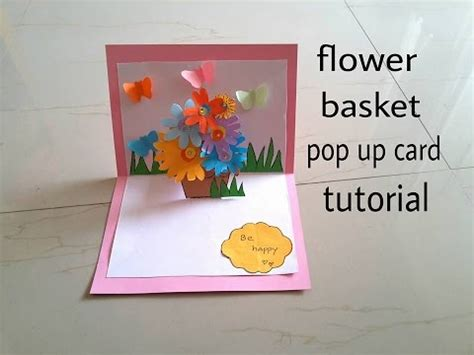 how do i make a pop up card diy 3d pop up card easy how to make