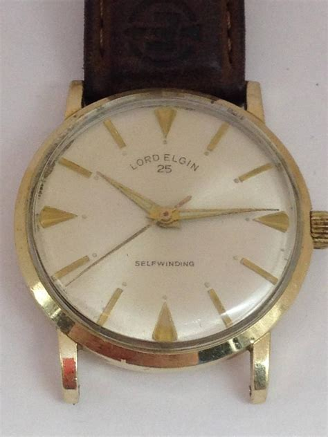 lord elgin  winding  jewel wrist