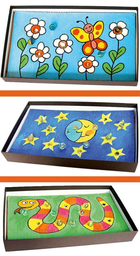 Geschicklichkeitsspiele Ideen by Upcycling Mit Schuhkartons Geschicklichkeitsspiel Basteln