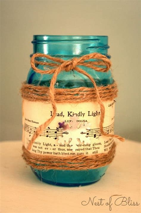 diy decorations candle jars easy to make sheet decorating projects diy