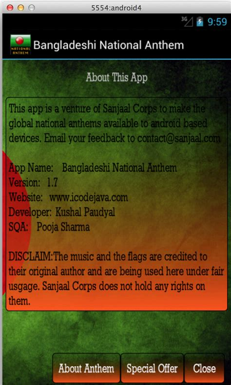 bangladesh national song bangladeshi national anthem android apps on play