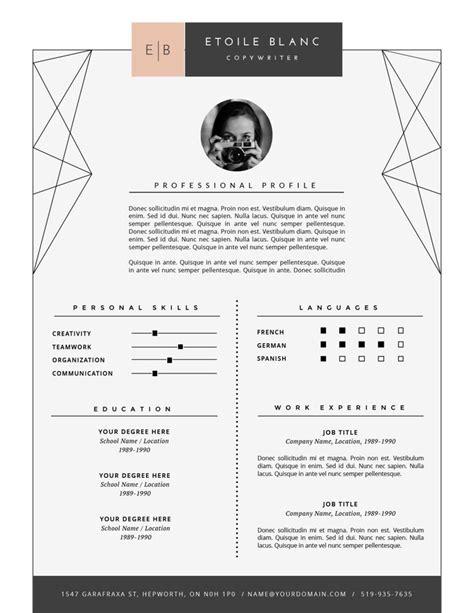 Lebenslauf Muster Gestalter Für Visuelles Marketing 25 171 187 Creative Cv Template