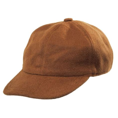 stetson and wool baseball cap with earflaps blank
