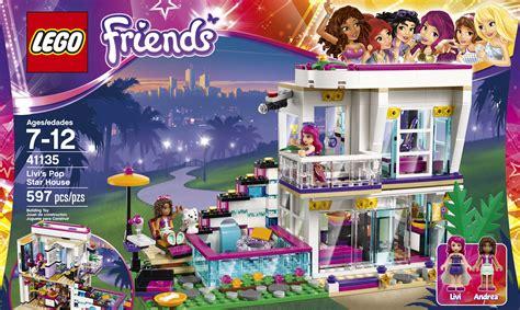 lego friends dog house lego friends livi s pop star house 41135 free shipping new ebay