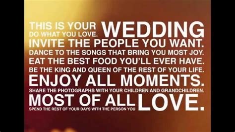 Wedding Quotes For Speech by Great Wedding Speeches And Wedding Quotes