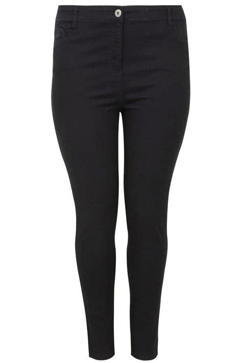 country comfort chords czarne mocno zwężane elastyczne jeansy super skinny