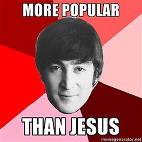 John Meme - the beatles vs jesus popshifter