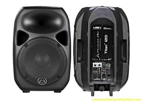 Speaker Aktif Qsc speaker aktif wharfedale titan 12 paket sound system profesional indonesia