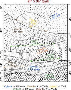 Landscape Quilting Fabric Design Landscape Quilt Patterns 206 On The Lake Quilt
