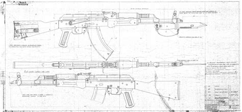 what size paper are blueprints printed on finally the ak original factory blueprints