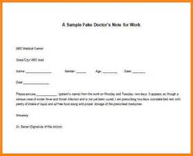 Excuse Letter Ms Word 6 Doctors Excuse Letter Inventory Count Sheet