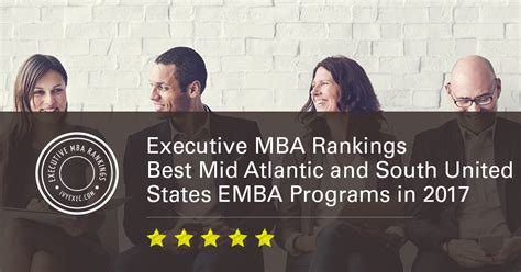 Palm Atlantic Mba Ranking by Executive Mba Rankings Best Mid Atlantic And South