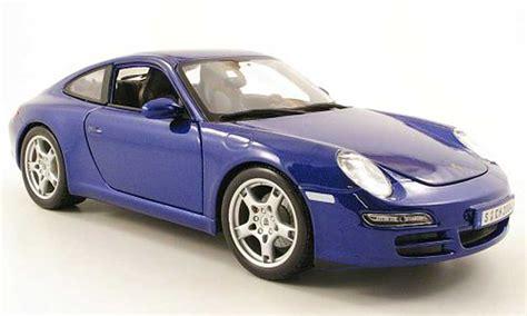 Diecast Miniatur Replika Mobil Porsche 911997 S Coupe porsche 997 s blue maisto diecast model car 1 18