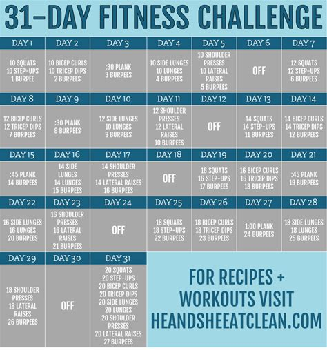 fitness challenge exercises 2017 fitness finance challenges he she eat clean