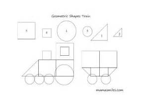 felt shape templates geometric shape templates for preschoolers construction