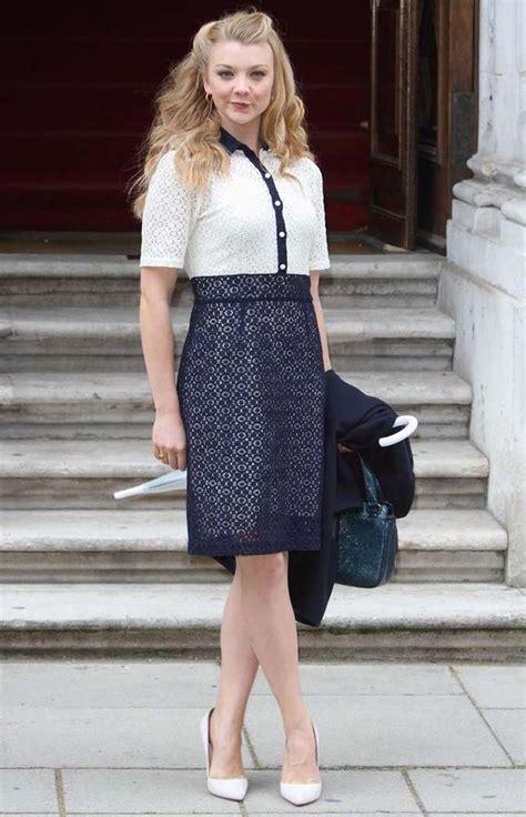 Natalie Dormer Dress Natalie Dormer Dazzles In Summer Dress At Prime Minister S