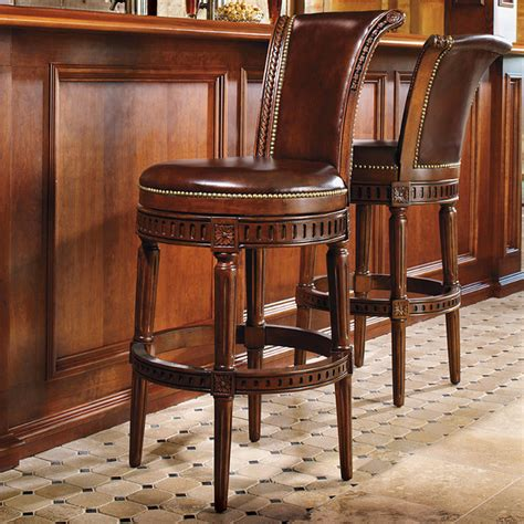 Manchester Bar Stool by Manchester Swivel Bar Height Bar Stool 30 Quot H Seat Black