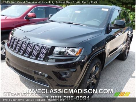 2015 Jeep Grand Altitude Black Brilliant Black Pearl 2015 Jeep Grand