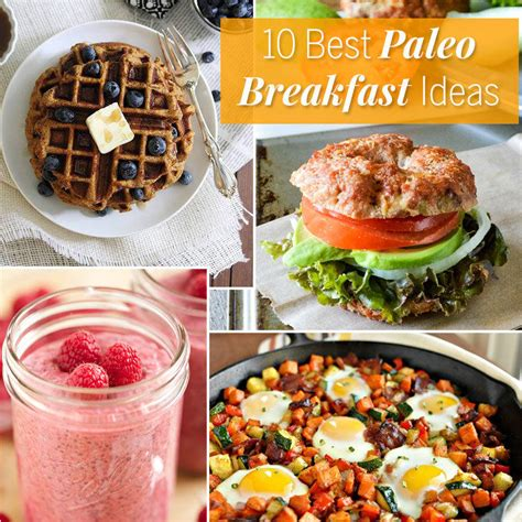 Detox Paleo Breakfast by The 10 Best Paleo Breakfast Ideas Fitness Magazine