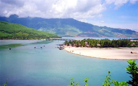 Lang Along cycling along lang co bay tam giang lagoon in da nang