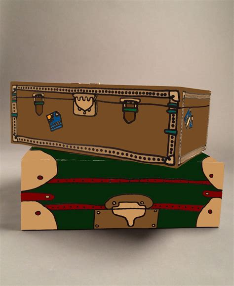 How To Make A Shoe Box Out Of Paper - how to make shoe box suitcase storage home