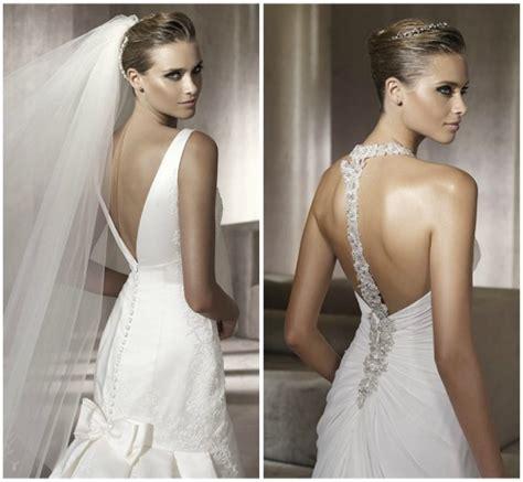fotos vestidos de novia con escote en la espalda vestidos de novia con escote en la espalda