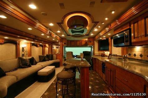 Rv With Modern Interior by Luxury Rv Interior Delayed Gratification