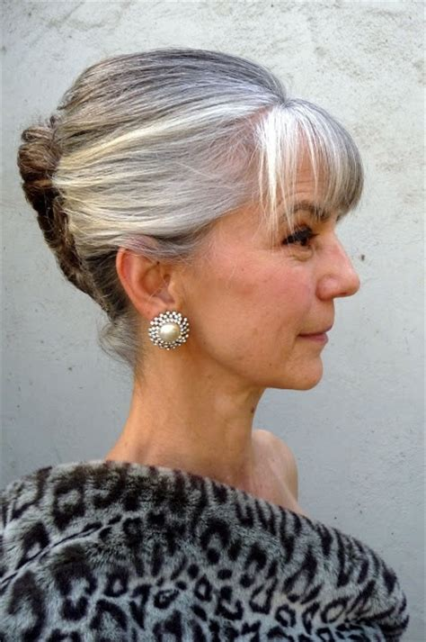 hairstyles grey 45 201 best images about hairstyles for women over 45